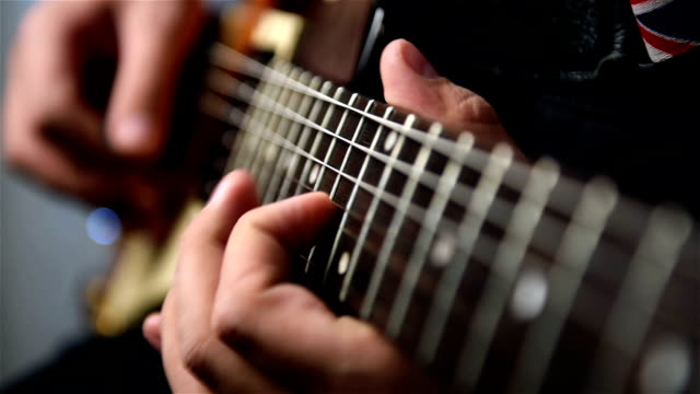 Playing Guitar Solo video