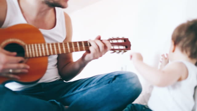 Playing guitar with my dad video