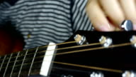 playing guitar,strum. video