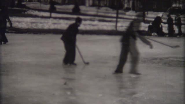 Playing Hockey 1940 video
