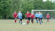Playing on a Kids Soccer Team video