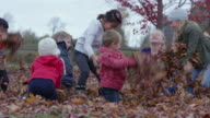Playing on an Autumn Day with Friends video