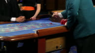 HD CLOSE UP: Playing roulette video