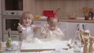 Playing With Flour video