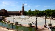 Plaza de Espana, Sevilla video