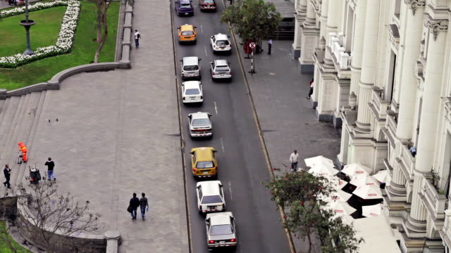 Plaza San Martin In Lima Peru video