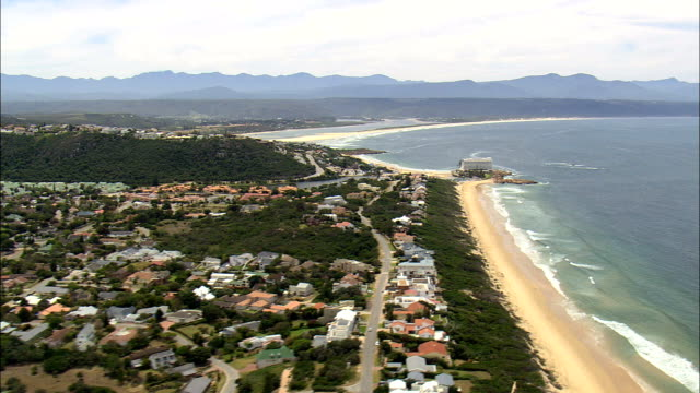 Plettenberg Bay  - Aerial View - Western Cape,  South Africa video
