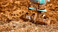 Ploughing Farm Land. video