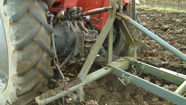 HD SLOW MOTION: Plowing The Soil video