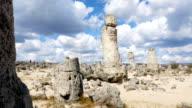 Pobiti kamani, natural rock formations in Bulgaria video
