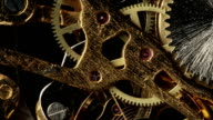 Pocket Watch Gears in Motion video