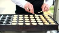 poffertjes dutch pancakes video