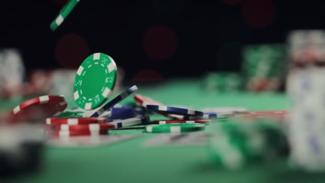 Poker All In Chips video