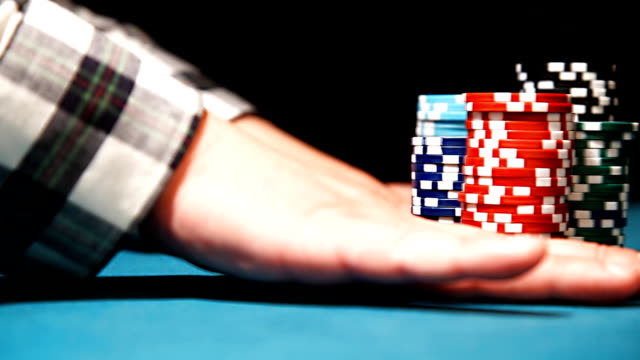 Poker - Betting and going all-in video
