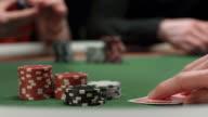 HD: Poker Player Raise Bet video