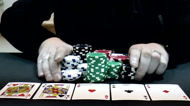 Poker player video