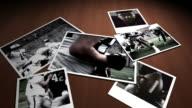Polaroids of Football Plays video