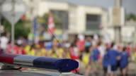 Police Car Lights Flash video