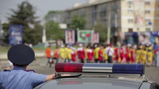 Police Car Lights video
