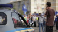 Police Car. video