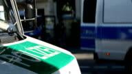 police cars in Germany video
