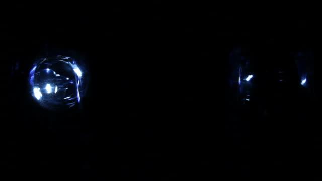 police lights video