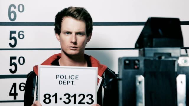 Police Station Mugshot video