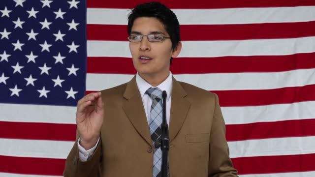 Political speech video