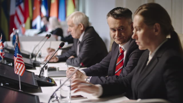 Politicians Preparing for Convention video