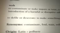 Pollute Definition video