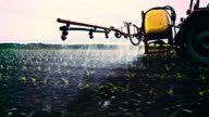 Polluting a field with synthetic chemicals video
