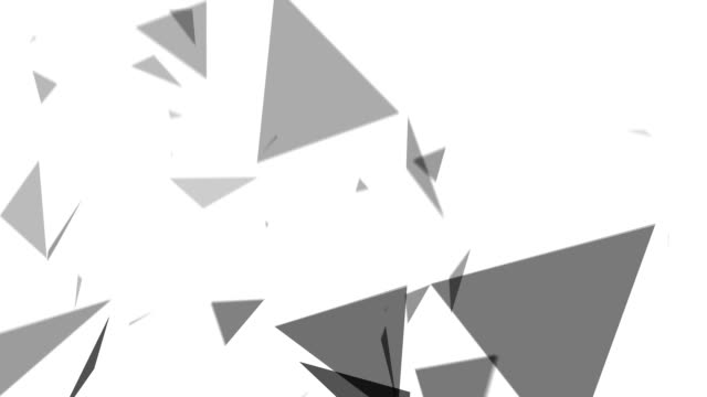 Polygon Abstract Background video