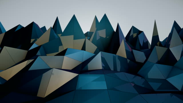 Polygonal Wave - Loopable video