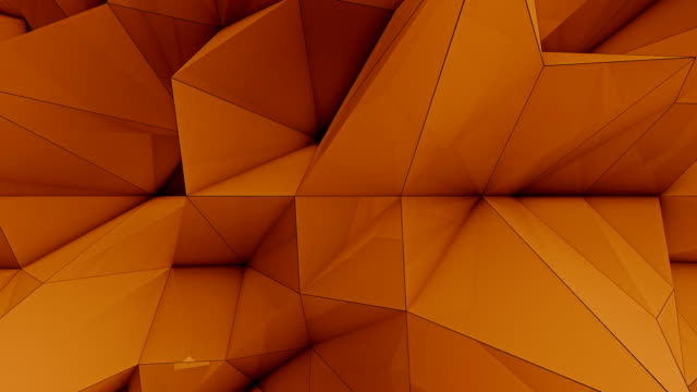 Polygonal Wave - Loopable video