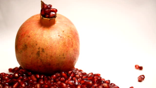 Pomegranate Fruit and Pieces Turns video