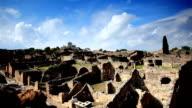 Pompei ruins video