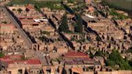 Pompeii  - Aerial View - Campania, Naples, Pompei, Italy video