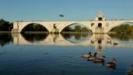 Pont d'Avignon, France video