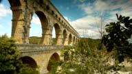 Pont du Gard in South France video