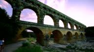 Pont du Gard, Provence, France video