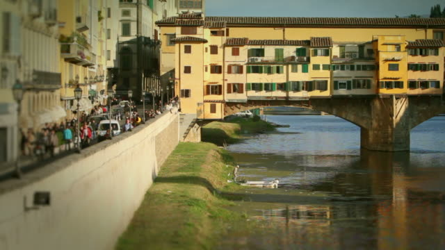 Ponte Vecchio in Florence Timelapse Video HD video