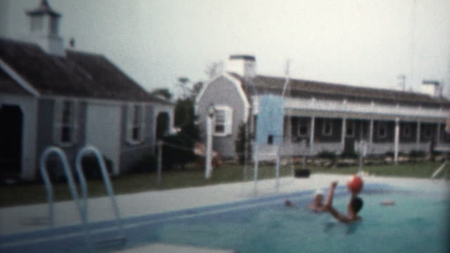 1959 - Pool Basketball Summer Fun Vacation Home video