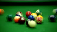 Pool Table - Stock Video video