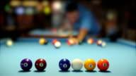 Pool table video