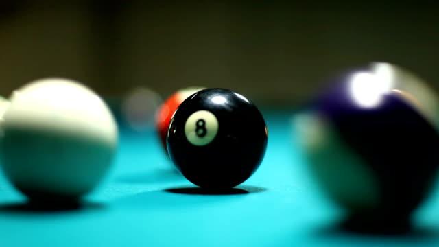 Pool Table White Billards Ball Prevent Number 8 video