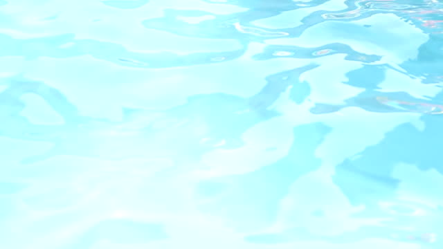 Pool water surface - loopable, HD, NTSC video