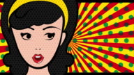 Pop art design, Video Animation video
