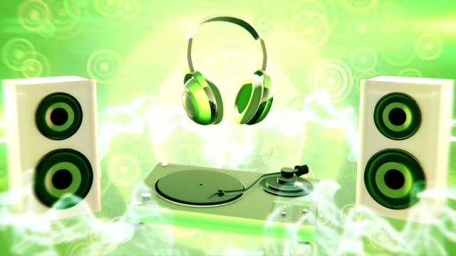 Pop music (green) - Loop video