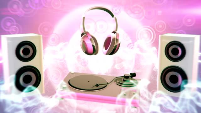 Pop music (pink) - Loop video