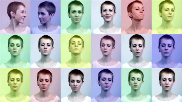 pop-art woman video